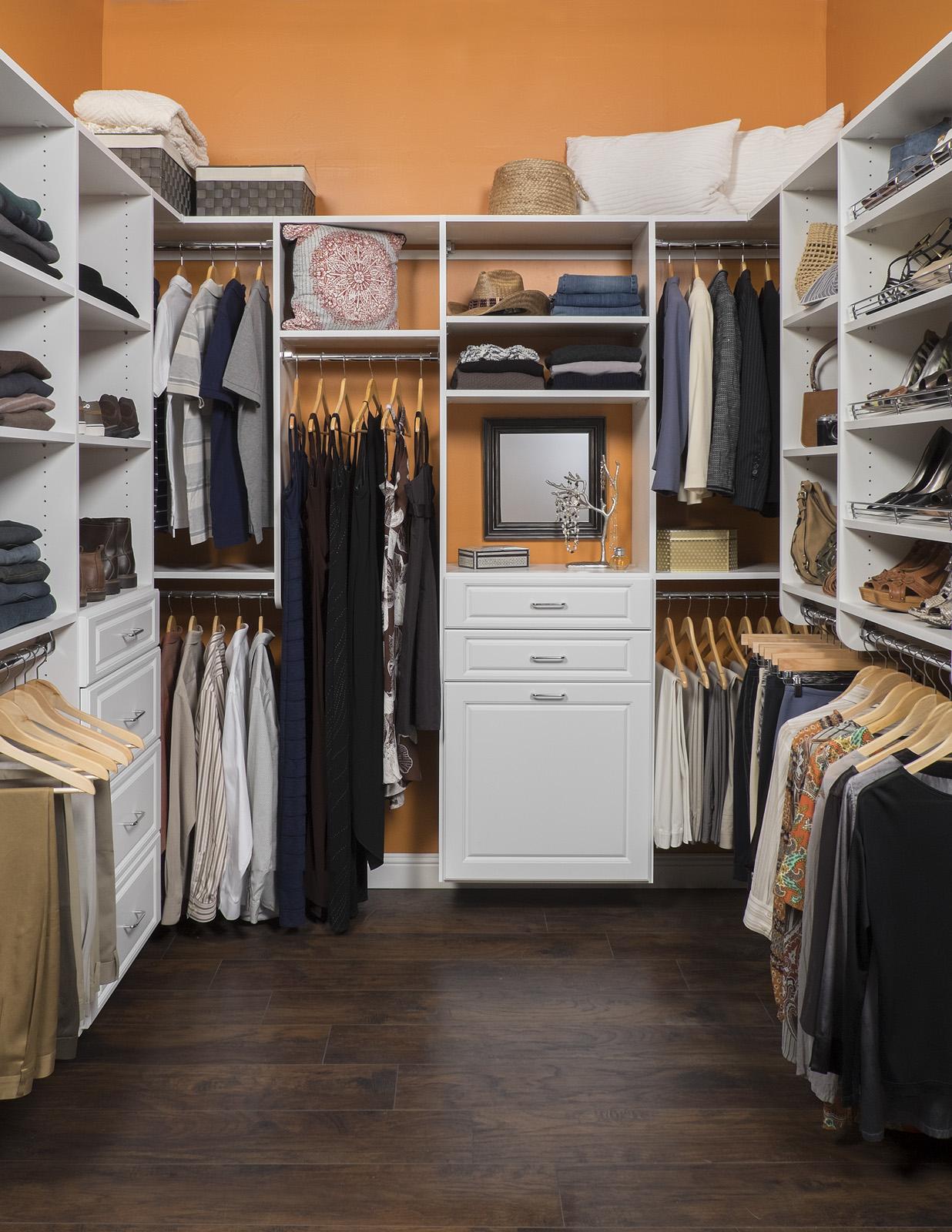 Walk In Closet Ideas - First Class Closets